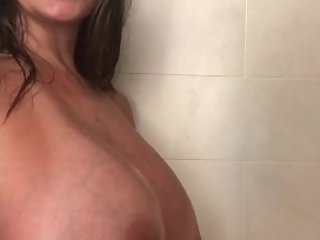 AVA IN SHOWER