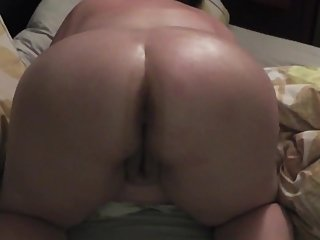 Pawg Wife Fucked & Cum on Big Tits