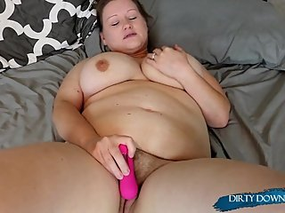 DDS- Just a Girl and Her Toy- Solo Wife Masturbation