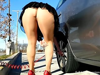 Grocery Store Pantsing Upskirt - PREVIEW clip