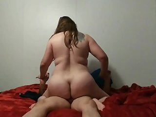 Pawg wife riding dick your mom j