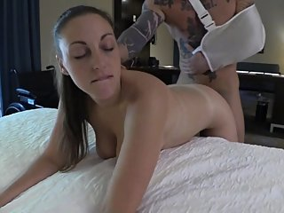 Nurse MILF Mom Soothes Injured Stepson Part 4
