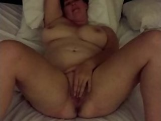 Alyshia has her first on camera orgasm