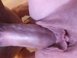 Cumming inside my wife's beautiful pussy