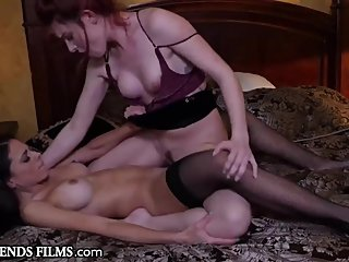 GirlfriendsFilms Shy Teen Lacy Lennon's First Time At A Brothel