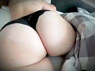 Stepmom is awakened and fucked in the morning by stepson while Stepdad home