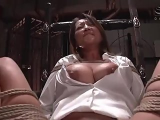 Japanese Milf Agent is caught and tortured
