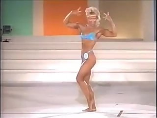 80'S FEMALE MUSCLE CONTEST - JAPANESE TV