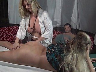 Hot amateur babe getting her ass massaged and pussy licked