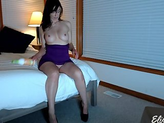 Sexy Voyeur Full Strip and Lotion Up HD