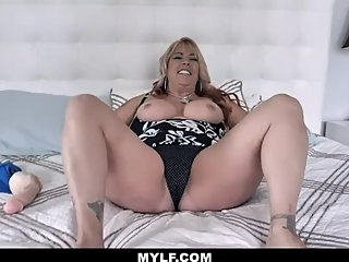 FullofJOI - Thick Mature Milf Jerk Off Instructions With Dildo
