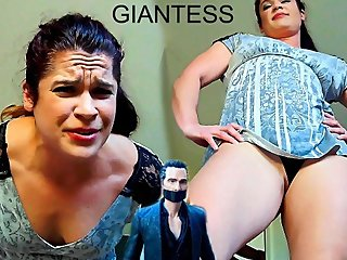 Giantess - Shrunken Boss - PREVIEW