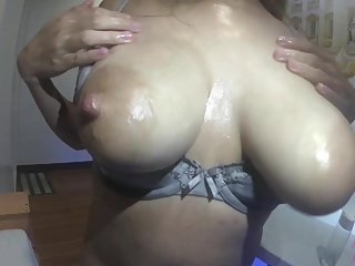 Asian Pinay Milf With Huge Natural Breast, Titjob