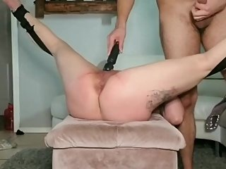 MILF Latina Has A Loud Orgasm With Black Vibrator