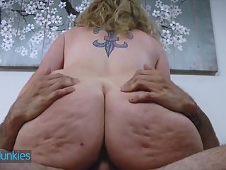 Reality Junkies - Chubby step mom gets pounded by younger man