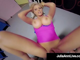 Busty Planet Pleasing Milf Julia Ann Fucked By Hard Gym Dick