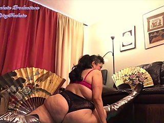 Deep Stretching in Lace Bra and Panties - PREVIEW