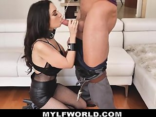 Smoking Hot Badass MILF Babe Takes Cock In Every Hole