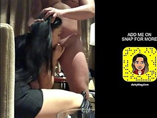 BIG TITS MILF SUCKS DICK AND RECORD IT ON SNAPCHAT