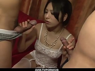 Hot Kanade Otowa amazing amateur porn in group - More at 69avs com