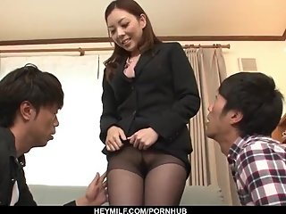 Maki Mizusawa reveals her slutty side in a hot - More at Japanesemamas com