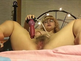 Perfect Fat Slut With Enormous Tits Squirting On Dildo