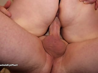 Hotwife and Bull Break Chair When Fucking
