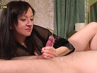 long edging with hard cock squeezing