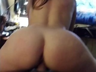 Watchin ex gfТs big ass ride dick reverse cowgirl