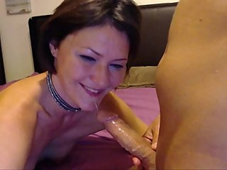 Cum in Mouth-Amateur MILF Loves Being Gagged and Ass Fucked
