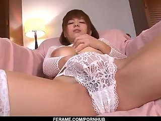 Airu Oshima gets busy with cock and sucks until the l - More at Slurpjp com