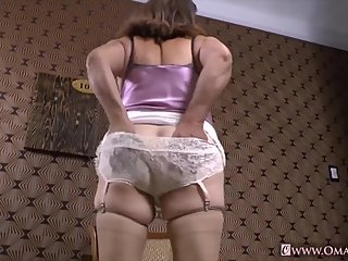 OmaGeiL Compilation of Mature Masturbation