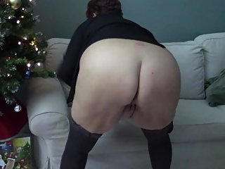 Great Fat Ass Anal Plugged