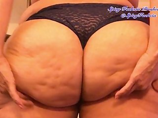 BBW Lifting and Dropping Butt