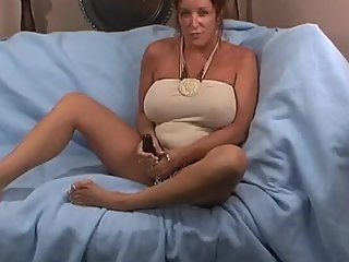 Rachel Steele MILF40 - Step Mom jerk off instruction with big dildo