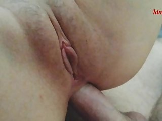 Perfect morning anal sex with creampie