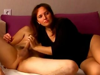 Shameless stepmom with big tits seduces and fucks her lucky stepson