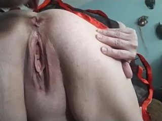 Best wife ever cleaning, squirting, blowing me, anal & feeds me creampie