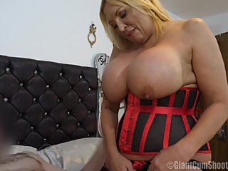 Misty McCaine Big Busty Red Hot Xmas Present