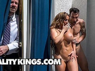 Reality Kings - Phat ass milf Richelle Ryan rides cock