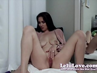 Lelu Love-WEBCAM: XXXmas Outfit TryOn And Masturbating