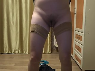 married, pregnant milf showing to stranger on skype