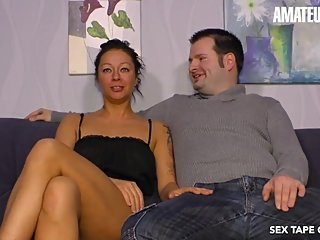SextapeGermany - Hot German Tattooed MILF Rough SEX On Tape - AmateurEuro