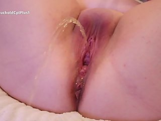 Hotwife Huge Fountain Squirting