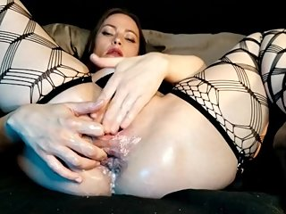 AdalynnX - Prego Extreme Pussy and Ass Gaping JOE