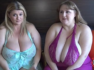 JACK OFF ON OUR HUGE TITS WITH SAPPHIRE TRAILER