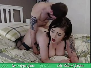 Ms. Vixen: Blowjob, doggy, sideways, pussy eating, creampie, facial HL19