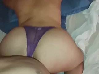 Stepmom Props Milf Ass In The Air For Her Son To Fuck (Real) Homemade