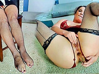Saleswoman - Anal / Feet Fetish - Full Length Version is 13 minutes