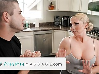 NuruMassage Cheating on Wifey with Her MILF Momma!